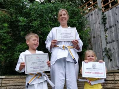Chard Tae Kwon-Do - family classes