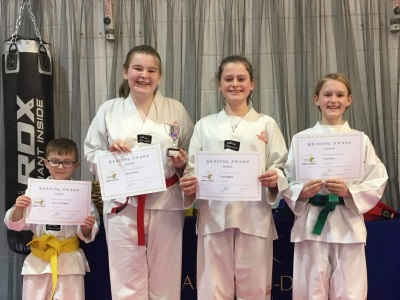 Chard Tae Kwon-Do - Junior classes