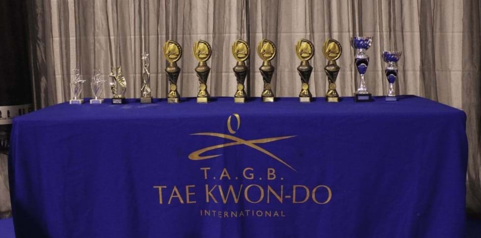 Chard Tae Kwon-Do - Trophy table